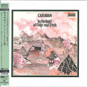 CARAVAN In The Land Of Grey And Pink SHM CD HRcut platinum (UICY-40050)