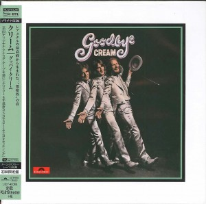 CREAM Goodbye SHM CD HRcut platinum UICY-40069