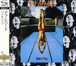 DEF LEPPARD High N' Dry JAPAN SHM-CD UICY-25115