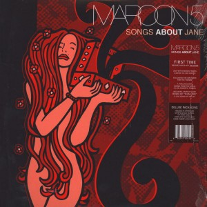 MAROON 5 Songs About Jane * black 2x 180g LP - 2015