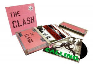 The Clash 5 Studio Album 8xLP BOX (MOVLP865)
