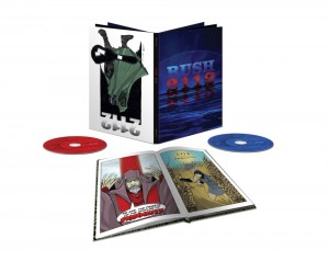 RUSH 2112 book deluxe edition CD + BLU-RAY Multichannel  +komiks