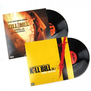 KILL BILL VOL. 1+2 soundtrack zestaw 2xWINYL folia