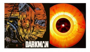 DANNY ELFMAN Darkman FIRE COLOR 180g LP folia