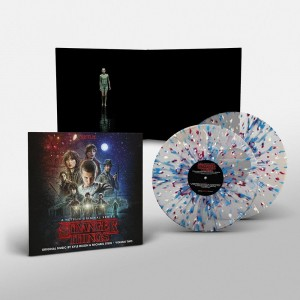 Stranger Things 2 SURVIVE FROSTED CLEAR 2xLP