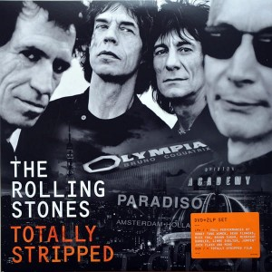 ROLLING STONES Totally Stripped - 2xLP + DVD video multichannel