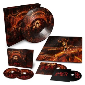 SLAYER Repentless LIMITED DELUXE BOX LP+CD+DVD+BR/CD