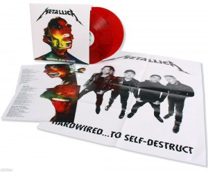 RSD16 METALLICA Hardwired.. To Self-Destruct RED 2xLP 180g