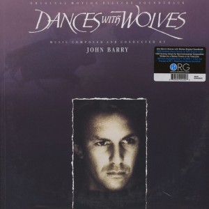 JOHN BARRY Dances With Wolves TAŃCZĄCY Z WILKAMI (ORG-150 HQ 2xLP 45RPM)