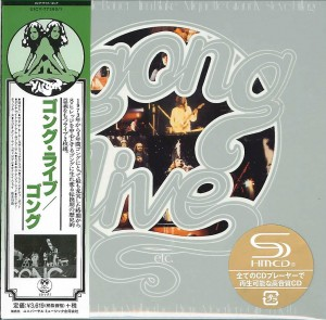 GONG Live Etc - JAPAN 2x SHM-CD UICY-77390