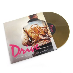 CLIFF MARTINEZ Drive 2xLP LIMITED OPAQUE GOLD VINYL