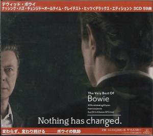 DAVID BOWIE Nothing Has Changed DELUXE JAPAN 3xCD WPCR-16181