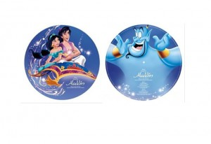 ALADDIN Alladyn limited DISNEY PICTURE DISC 180g LP