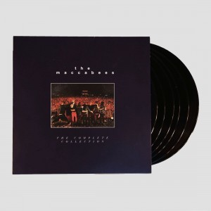 THE MACCABEES The Complete Collection 6xLP+DVD BOX (MACCBOX1)
