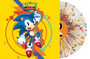 SEGA: SONIC MANIA (DATA-S 180g Clear with Blue, Red, Orange & Yellow Splatter Limited Edition)