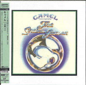 CAMEL The Snow Goose JAPAN SHM CD HRcut platinum (UICY-40047)