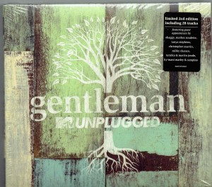 GENTLEMAN Unplugged 2xCD Deluxe Digipak Edition