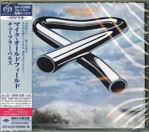 MIKE OLDFIELD Tubular Bells JAPAN SHM-SACD 2014 (UIGY-9629)