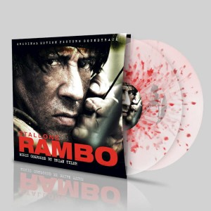 BRIAN TYLER Rambo - RED SPLATTER 2xLP (SILLP-1260) numbered