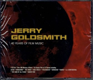 JERRY GOLDSMITH 40 Years Of Film Music 4xCD (SILCD-1183)