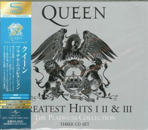 QUEEN The Platinum Collection 3x SHM JAPAN (UICY-15067)