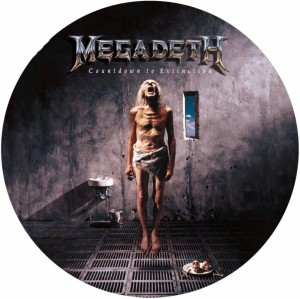 MEGADETH Countdown to Extinction PICTURE DISC 180g