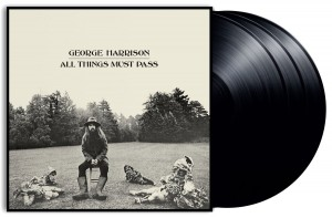 GEORGE HARRISON All Things Must Pass VINYL 3xLP 180g BOX