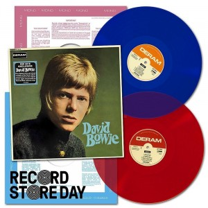 RSD18 DAVID BOWIE 2LP LTD. (color 2xLP mono+stereo)
