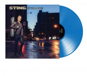 STING 57th and 9th BLUE VINYL LIMITED EDITION 180g