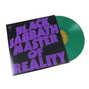 BLACK SABBATH Master of Reality - 180g green vinyl