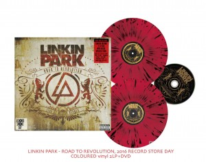 RSD16 LINKIN PARK Road To Revolution 2xLP COLOR +DVD Record Store Day