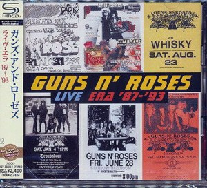 GUNS N' ROSES Live Era: '87-'93 2x SHM CD UICY-20220