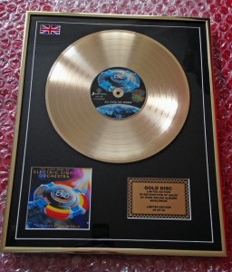 E.L.O. All Over The World ELO ZŁOTA LP display