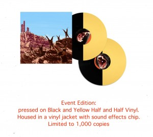 Planet Of The Apes OST BY JERRY GOLDSMITH  2x180 yellow/black chip edition (MOND-038) 45rpm