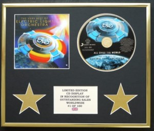 E.L.O. All Over The World ELO CD display