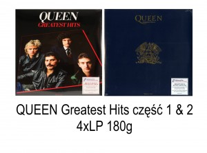 QUEEN Greatest Hits vol. 1 + 2 (2016 - 4xLP 180g)