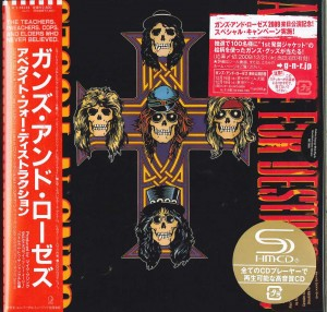GUNS N' ROSES Appetite For Destruction JAPAN SHM (UICY-94334)