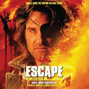 ESCAPE FROM LA by Shirley Walker and John Carpenter (FLAME COLOURED VINYL)