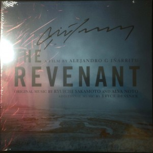 The Revenant SIGNED BY SAKAMOTO OST Di Caprio 2x180g COLOR LP