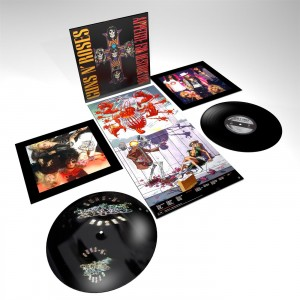 GUNS N' ROSES Appetite For Destruction (remastered 180g Limited-Audiophile-Edition)