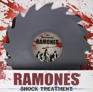RAMONES Shock Treatment - LP LIMITED EDITION SHAPED BUZZ SAW VERSION