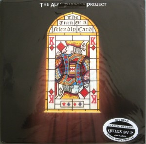 THE ALAN PARSONS PROJECT The Turn Of A Friendly Card (QUIEX 200g)