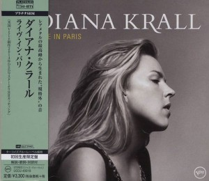 DIANA KRALL Live In Paris JAPAN SHM PLATINUM CD (UCCU-40019)