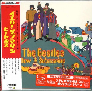 THE BEATLES Yellow Submarine SHM CD JAPAN (cardboard UICY-76977)