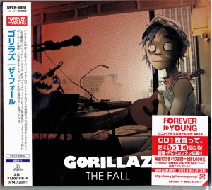 GORILLAZ The Fall - Japan CD WPCR-80061