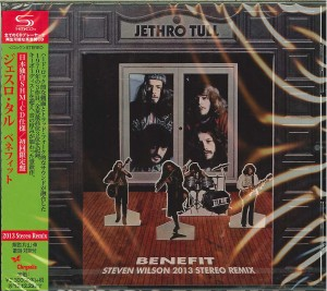 JETHRO TULL Benefit JAPAN SHM-CD +bonus 2015 WPCR-16471