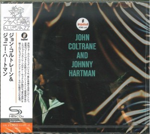 John Coltrane And Johnny Hartman JAPAN SHM-CD 2016 (UCCU-5611)