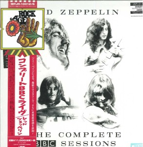 LED ZEPPELIN The Complete BBC Sessions 5xLP 180g (DELUXE JAPAN 2016 BOX)