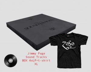 JIMMY PAGE Sound Tracks VINYL BOX 4xLP JPRLPBX1 + t-shirt XL
