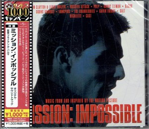 Mission Impossible JAPAN CD UICY-78204